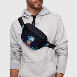 Поясная сумка BRAWL STARS LEON SHARK цвета 3D — фото 2
