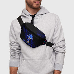 Поясная сумка СОНИК цвета 3D-принт — фото 2