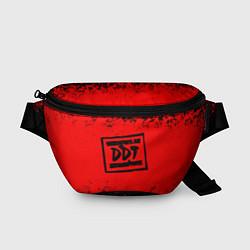 Поясная сумка ДДТ Лого цвета 3D — фото 1