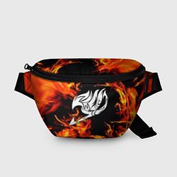 Поясная сумка FAIRY TAIL ХВОСТ ФЕИ цвета 3D-принт — фото 1