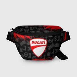 Поясная сумка DUCATI 2 цвета 3D-принт — фото 1