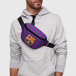 Поясная сумка Barcelona цвета 3D-принт — фото 2