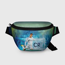 Поясная сумка CR Ronaldo цвета 3D-принт — фото 1