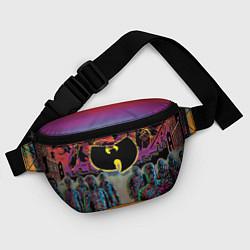 Поясная сумка Wu-Tang Clan: City цвета 3D-принт — фото 2