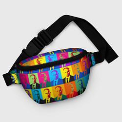 Поясная сумка Путин Владимир цвета 3D — фото 2
