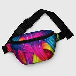 Поясная сумка Абстракция цвета цвета 3D — фото 2