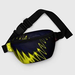 Поясная сумка Молния цвета 3D — фото 2