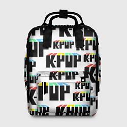 Рюкзак женский K-pop Pattern цвета 3D-принт — фото 1