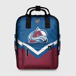 Рюкзак женский NHL: Colorado Avalanche цвета 3D-принт — фото 1