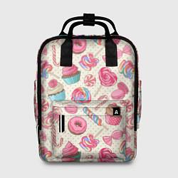 Рюкзак женский Радости для сладости цвета 3D — фото 1