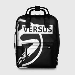 Рюкзак женский Versus Battle: Black цвета 3D-принт — фото 1
