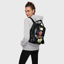 Рюкзак женский Terminator Art цвета 3D — фото 2