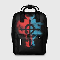 Рюкзак женский Стальной алхимик цвета 3D-принт — фото 1