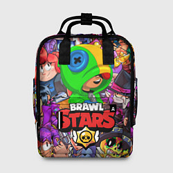 Рюкзак женский BRAWL STARS LEON цвета 3D — фото 1