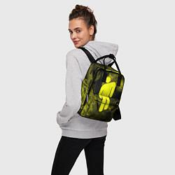 Женский городской рюкзак с принтом BILLIE EILISH, цвет: 3D, артикул: 10201693505839 — фото 2