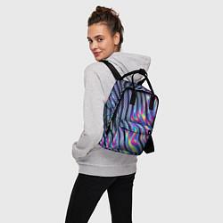 Рюкзак женский DIGITAL ABSTRACT цвета 3D — фото 2