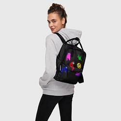Рюкзак женский Among Us цвета 3D — фото 2
