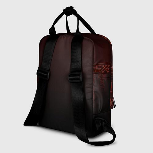 Женский рюкзак Genshin Impact - Hu Tao / 3D-принт – фото 2