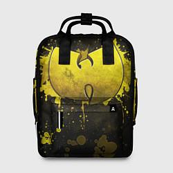 Рюкзак женский Wu-Tang Clan: Yellow цвета 3D-принт — фото 1