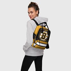 Рюкзак женский Boston Bruins цвета 3D-принт — фото 2