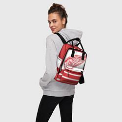 Рюкзак женский Detroit Red Wings цвета 3D-принт — фото 2