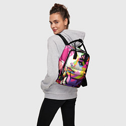 Рюкзак женский Michael Jackson Art цвета 3D — фото 2
