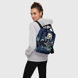 Рюкзак женский Nickelback: Chad Kroeger цвета 3D — фото 2