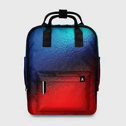 Женский рюкзак Синий и красный