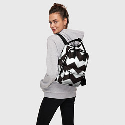 Рюкзак женский Полосы цвета 3D — фото 2