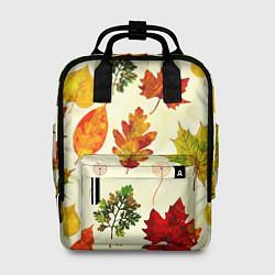 Рюкзак женский Осень цвета 3D — фото 1