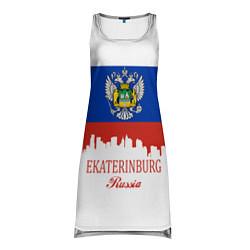 Туника женская Ekaterinburg: Russia цвета 3D-принт — фото 1