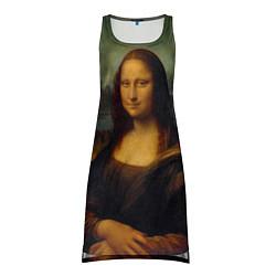 Туника женская Леонардо да Винчи - Мона Лиза цвета 3D — фото 1