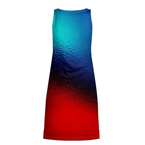 Женская туника Синий и красный / 3D – фото 2