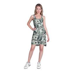 Туника женская Банкноты цвета 3D — фото 2