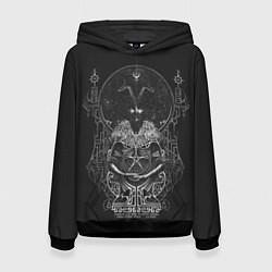 Толстовка-худи женская Wolves in the Throne Room цвета 3D-черный — фото 1