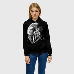 Толстовка-худи женская Parkway Drive цвета 3D-черный — фото 2