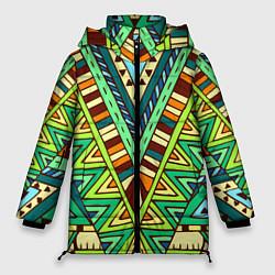Куртка зимняя женская Этно цвета 3D-черный — фото 1