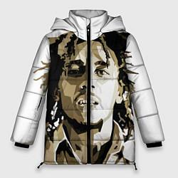 Куртка зимняя женская Bob Marley: Mono цвета 3D-черный — фото 1