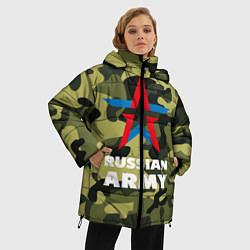 Куртка зимняя женская Russian army цвета 3D-черный — фото 2