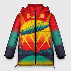 Куртка зимняя женская Led Zeppelin: Hindenburg - фото 1