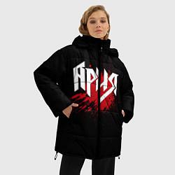 Куртка зимняя женская Ария цвета 3D-черный — фото 2