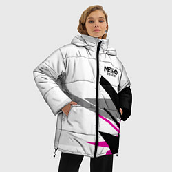 Женская зимняя 3D-куртка с капюшоном с принтом Metro Exodus: White Style, цвет: 3D-черный, артикул: 10161590106071 — фото 2