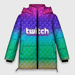 Куртка зимняя женская Rainbow Twitch - фото 1