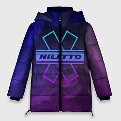 Женская зимняя 3D-куртка с капюшоном с принтом NILETTO, цвет: 3D-черный, артикул: 10211075706071 — фото 1