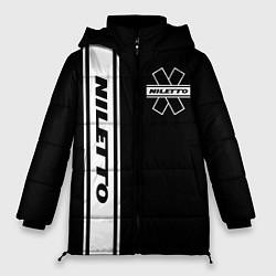 Женская зимняя 3D-куртка с капюшоном с принтом NILETTO, цвет: 3D-черный, артикул: 10213509906071 — фото 1