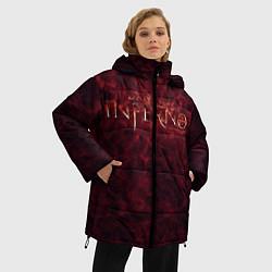 Куртка зимняя женская Ад Данте - фото 2