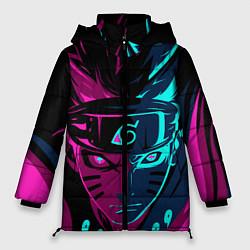 Женская зимняя куртка Неоновый НАРУТО