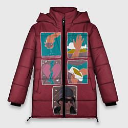 Куртка зимняя женская SLAVA MARLOW Снова я напиваюсь - фото 1