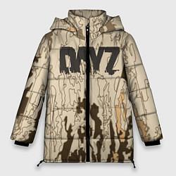 Женская зимняя 3D-куртка с капюшоном с принтом DayZ Standalone, цвет: 3D-черный, артикул: 10288714106071 — фото 1