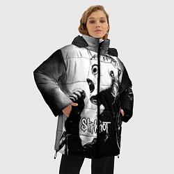 Куртка зимняя женская Slipknot цвета 3D-черный — фото 2